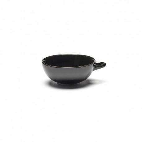 Tasse à café 8cl en porcelaine Noir - Serax Dé Ann Demeulemeester