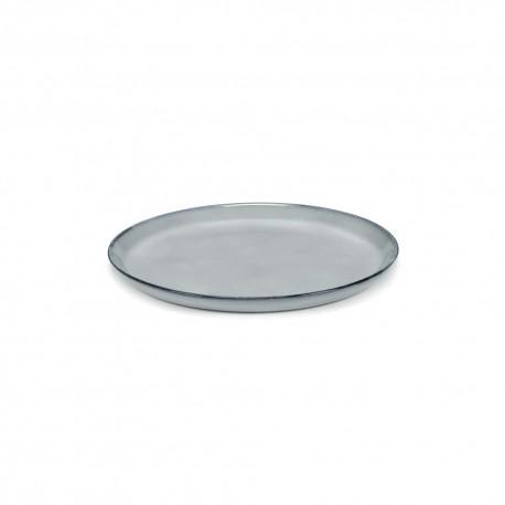 Assiettes ceramique 23.5cm Pure Bleu, Pascale Naessens