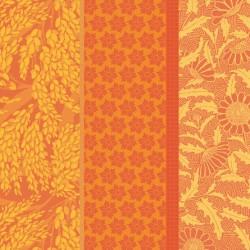Serviettes de table Graminées Orange, Garnier-Thiébaut