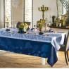 Nappe anti tache coton Bio Hortensias Bleu, Garnier-Thiébaut
