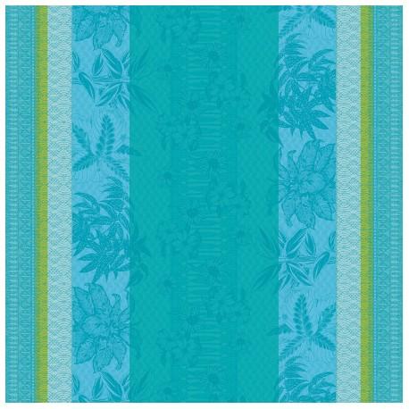 Tissu sur mesure Mille Alocasias Atoll en 160cm, Garnier-Thiébaut