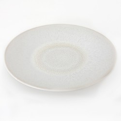 Assiettes plates Vuelta perle, Jars (par 4)