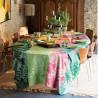 Nappe enduite sur mesure Mille Palma Pop laize 180cm, Garnier-Thiébaut