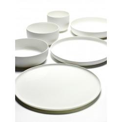 Service de table moderne porcelaine blanche Base, Serax by Piet Boon