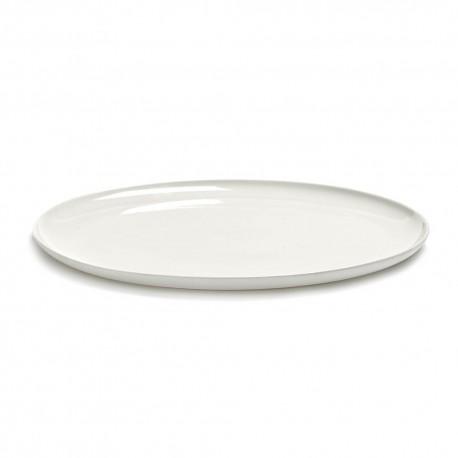 Assiette de présentation 32cm porcelaine blanche Base, Serax by Piet Boon