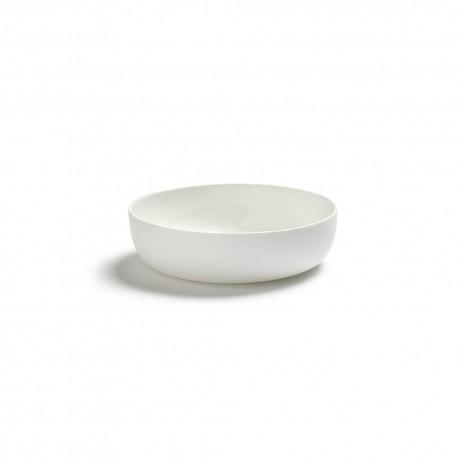 Assiette creuse 16cm porcelaine blanche Base, Serax by Piet Boon
