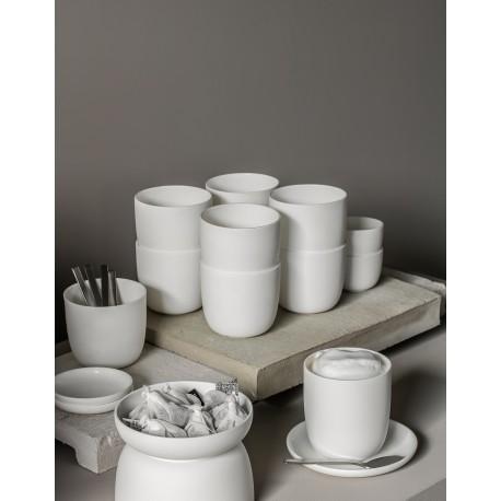 Service à café et espresso porcelaine blanche Base, Serax by Piet Boon