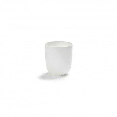 Gobelet à thé 35cl porcelaine blanche Base, Serax by Piet Boon