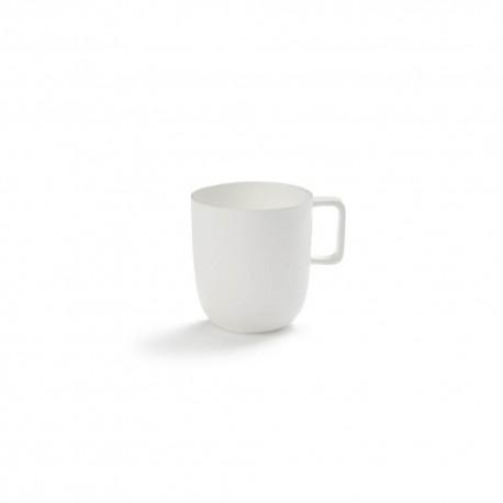 Tasse à thé 35cl porcelaine blanche Base, Serax by Piet Boon