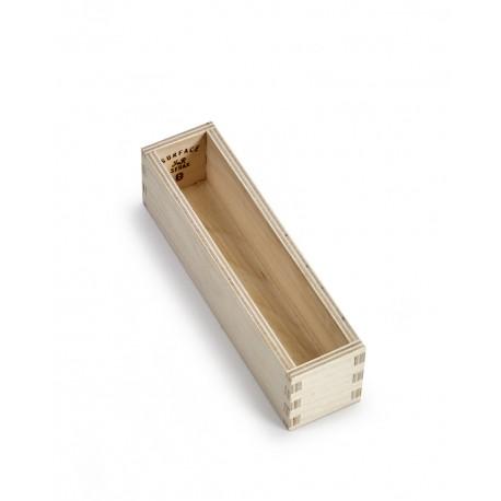 Range couvert, boite a couvert, en bois, des cuillères à expresso Surface Sergio Herman, Serax