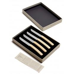 Couteaux à steak inox et bois Surface Sergio-Herman, Serax