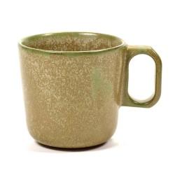 Mug 30cl grès émaillé Surface Camo Green, Serax par Sergio Herman