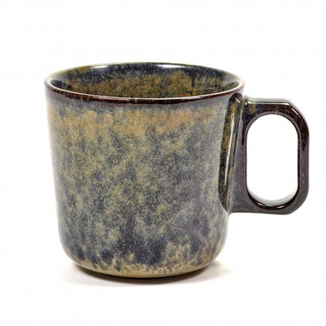 Mug 30cl grès émaillé Surface Indi Grey, Serax par Sergio Herman