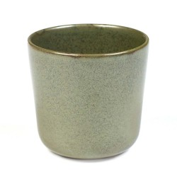 Gobelet 30cl grès émaillé Surface Camo Green, Serax par Sergio Herman
