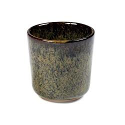 Gobelets à expresso 9cl en grès émaillé Surface Indi Grey - Sergio Herman, Serax (par 4)