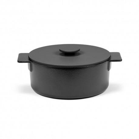 Faitout L en fonte Surface Noir D26cm Sergio Herman, Serax