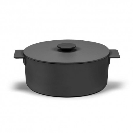 Faitout XLen fonte Surface Noir D29cm Sergio Herman, Serax