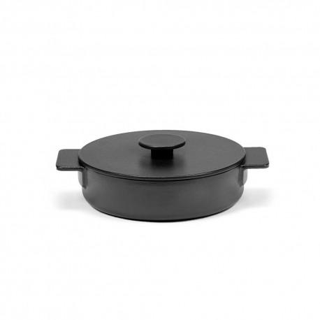 Sauteuse M en fonte Surface Noir D23cm Sergio Herman, Serax