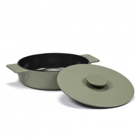 Sauteuse M en fonte Surface Camo Green D23cm Sergio Herman, Serax