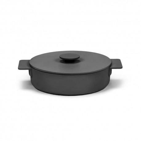 Sauteuse L en fonte Surface Noir D26cm Sergio Herman, Serax