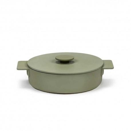 Sauteuse L en fonte Surface Camo Green D26cm Sergio Herman, Serax