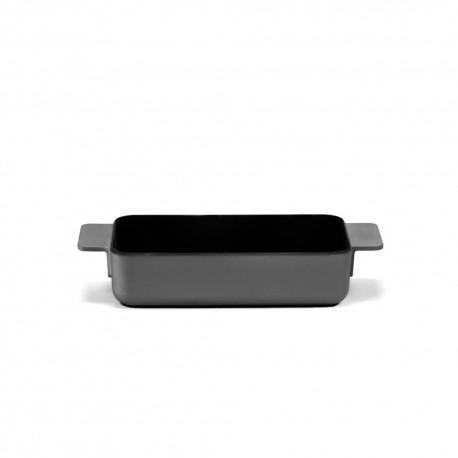 Plat à four M en fonte Surface Noir 26x15x6cm Sergio Herman, Serax