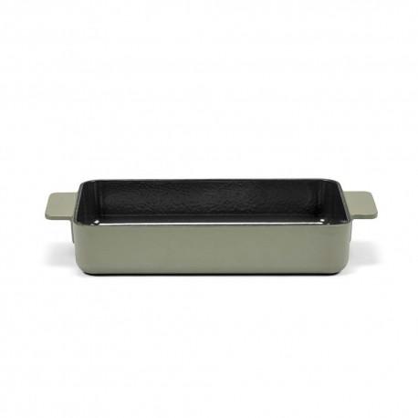Plat à four L en fonte Surface Camo Green 32x20x6cm Sergio Herman, Serax