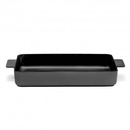 Plat à four XL en fonte Surface Noir 37x28x6cm Sergio Herman, Serax