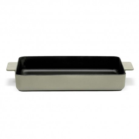 Plat à four XL en fonte Surface Camo Green 37x28x6cm Sergio Herman, Serax
