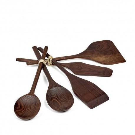 Set de couverts en bois , Pure de Pascale Naessens - Serax