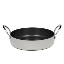 Batterie de cuisine induction - Faitout 28cm anti adhésif Pure Cookware Stone grey, Pascale Naessens Serax