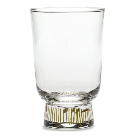 Serax Feast Ottolenghi - Verre 33cl Rayures Or