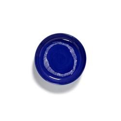 Serax Feast Ottolenghi - Assiette pasta grès 22cm Tourbillon Lapis Lazuli/Blanc