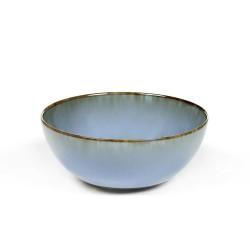 Bol à thé grès 20cl Smokey blue Terres de Rêves Anita Le Grelle
