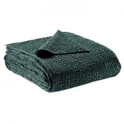 Jeté de lit coton stonewashed Tana Prusse, Vivaraise