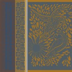 Serviettes de table Anhinga Bleu doré, Garnier-Thiébaut