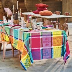 Tissu nappes au metre Mille Pueblo Fiesta laize 185cm, Garnier-Thiébaut
