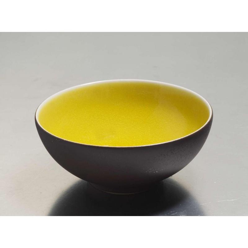 assiettes originales pasta gres jaune vaisselle jars. Black Bedroom Furniture Sets. Home Design Ideas