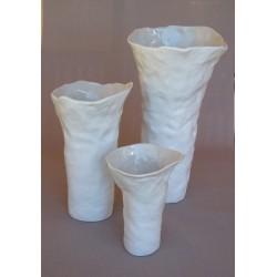 Vase céramique Nara blanc mat, Jars