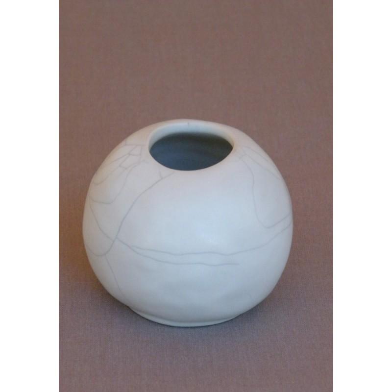 vase en gr s maill jars c ramistes vase hagura rond. Black Bedroom Furniture Sets. Home Design Ideas