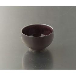 Bols à thé Tourron aubergine, Jars (par 4)