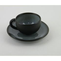 Tasses à thé Tourron écorce, Jars (par 4)