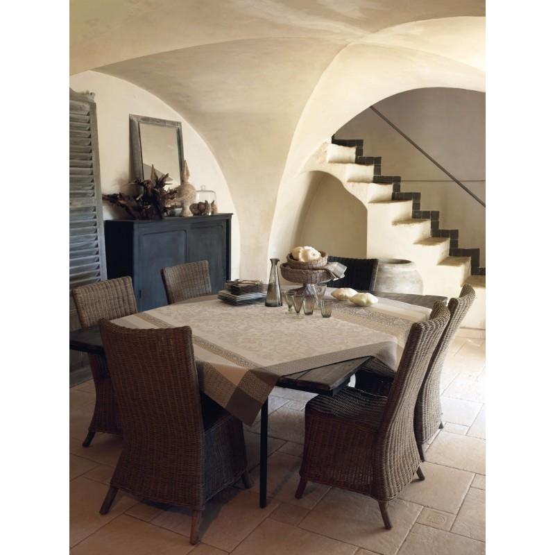 tissu enduit nappe enduite au m tre tissu enduit style provencal. Black Bedroom Furniture Sets. Home Design Ideas
