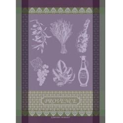 Torchons Provence Lavande (par 4)