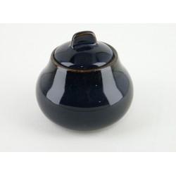 Sucrier Tourron indigo, Jars