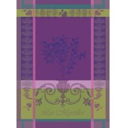Torchons Myrtilles Violet (par 4)