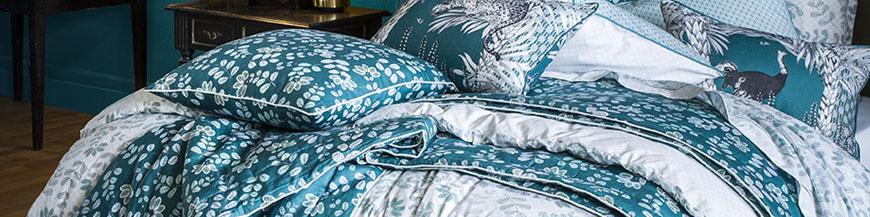 Linge de lit de qualité, parure de lit haut de gamme