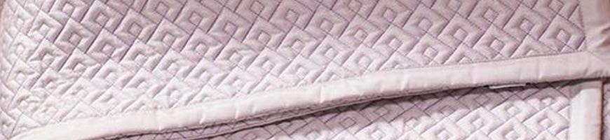 Couvre lit matelassé de luxe
