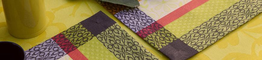 set de table design tissu coton haut de gamme