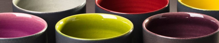 Vaisselle ceramique design de luxe Bernex